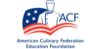 Accredited by the American Culinary Federation Education