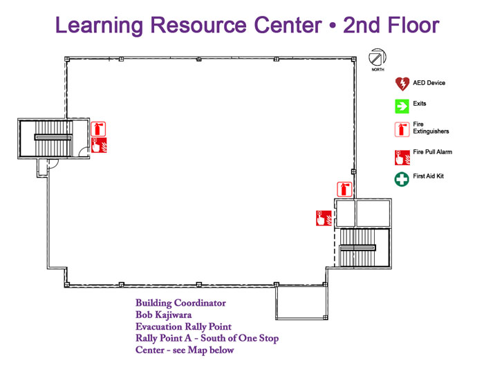 Learning Resource Center 2nd floor
